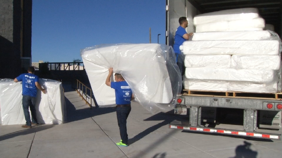 195 mattresses donated to Rescue Mission of El Paso