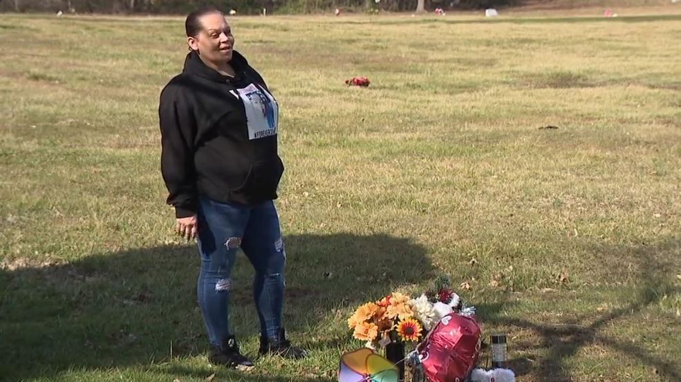 Baltimore mother devastated about trash piling up at her son's grave