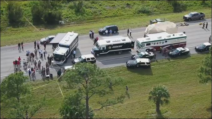 FHP Trooper Joseph Bullock shot and killed on I-95 in Martin County. (WPEC){&nbsp;}<p></p>