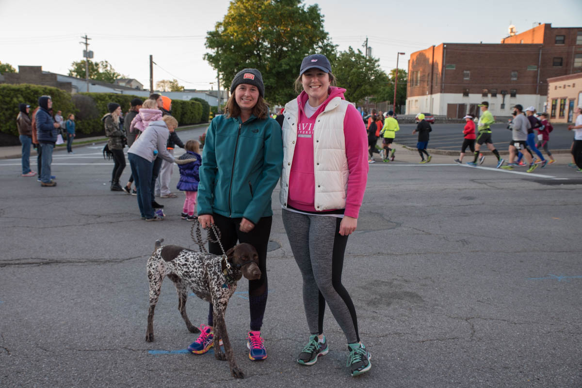 Erin Bove and Elizabeth Leavy with Kolsch the dog / Image: Sherry Lachelle Photography // Published: 5.8.17