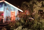 Tree falls on SE Portland house - Photo from Portland Fire and Rescue 2.jpg