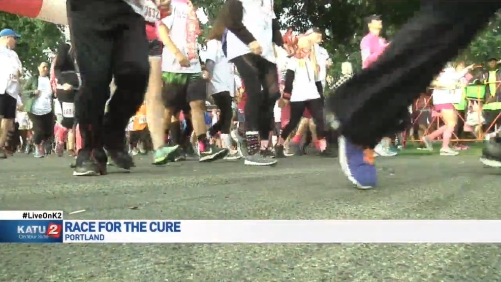 The Portland Race for the Cure (put on by the The Susan G. Komen Oregon Southwest Washington affiliate) is the largest breast cancer fundraising run/walk in the state.