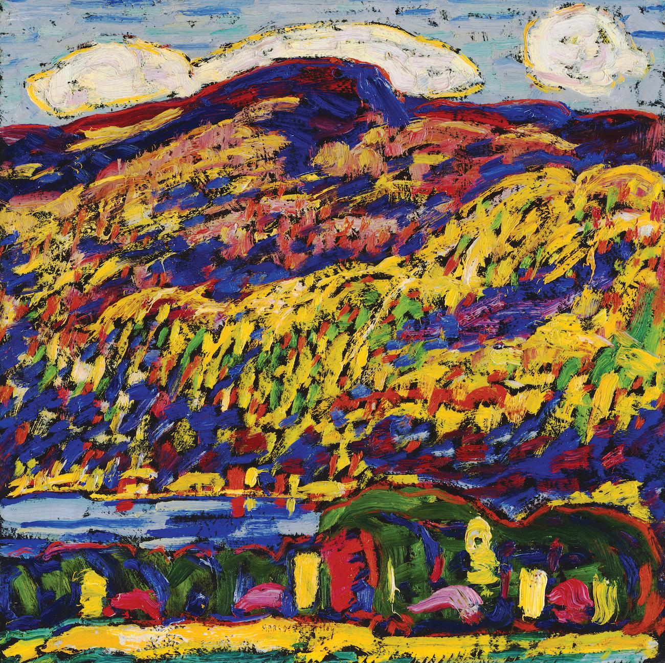 'Mountain Lake-Autumn' (ca. 1910) by Marsden Hartley / Image courtesy of the Taft Museum of Art // Published: 5.1.19