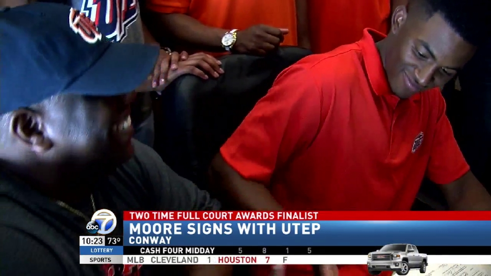 North Little Rock's Moore Signs With UTEP | KATV