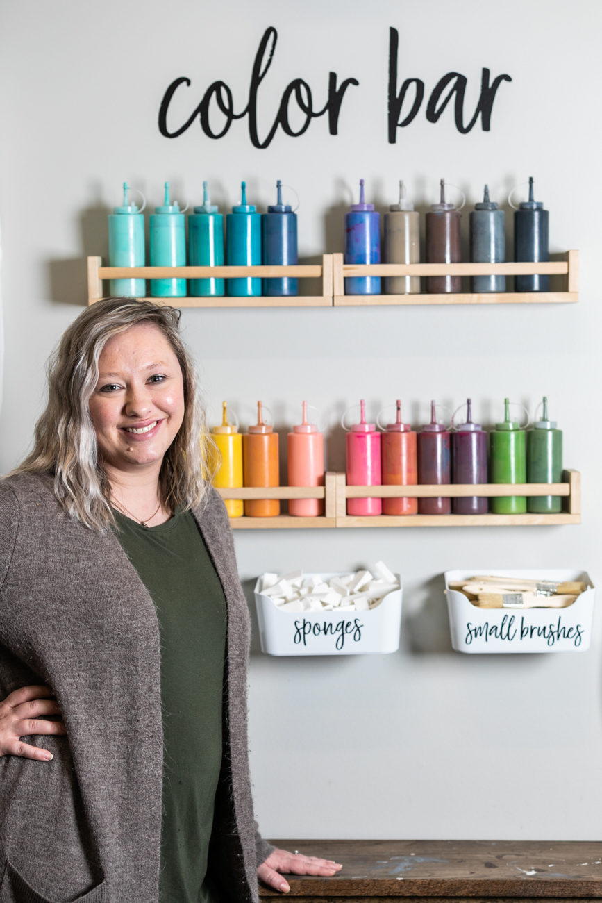 Brittany Kauffman, owner of The Evergreen Designs / Image: Amy Elisabeth Spasoff // Published: 4.11.19