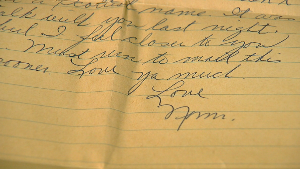 Love letters, memories from '60s found in Milford home