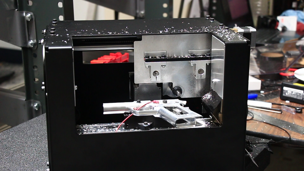 Machine developed by Texas inventor lets you make a handgun