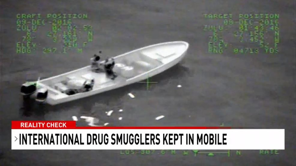 (WPMI) Reality Check: International drug smugglers kept in Mobile