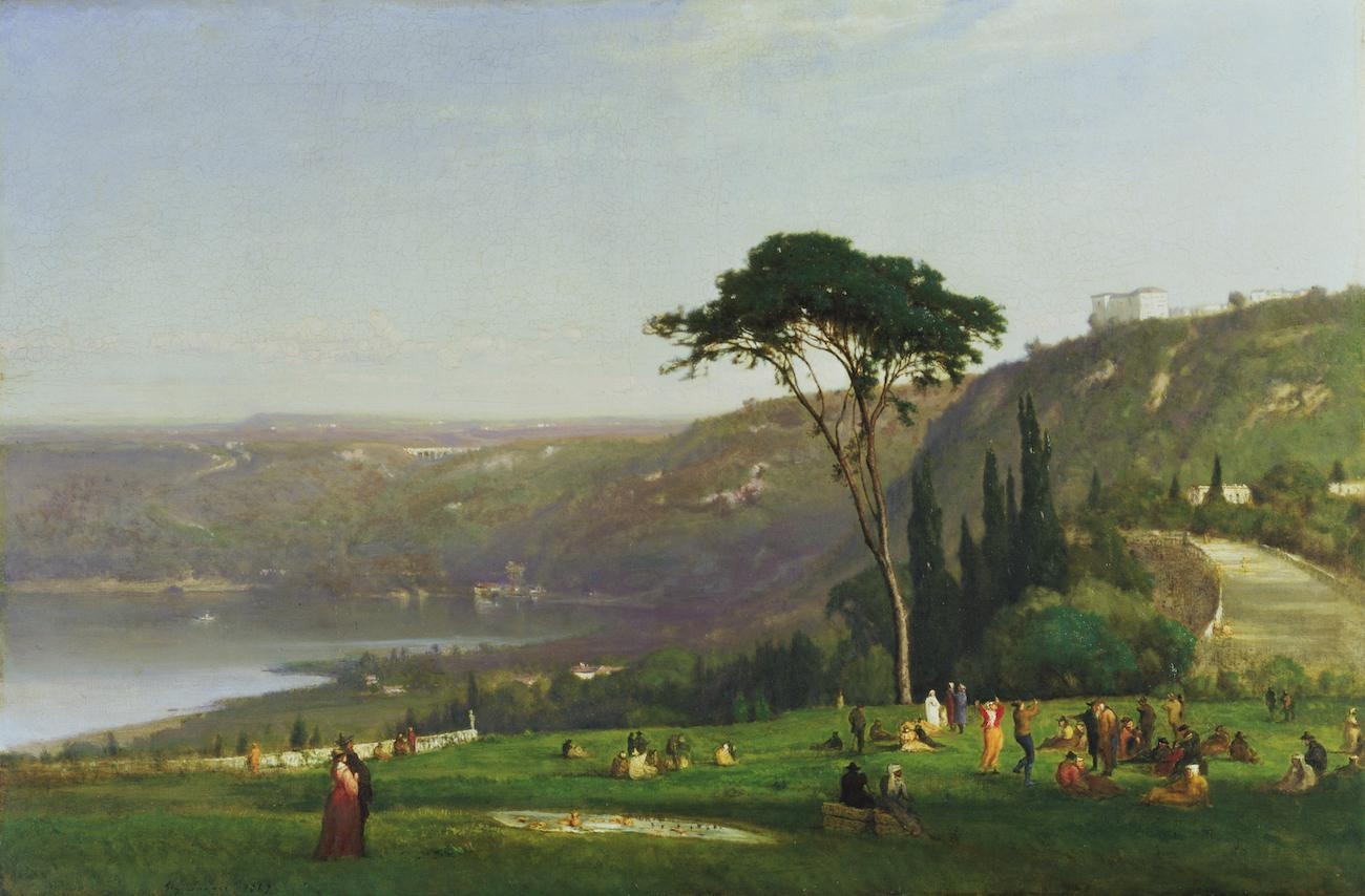 'Lake Albano' (1869) by George Inness / Image courtesy of the Taft Museum of Art // Published: 5.1.19