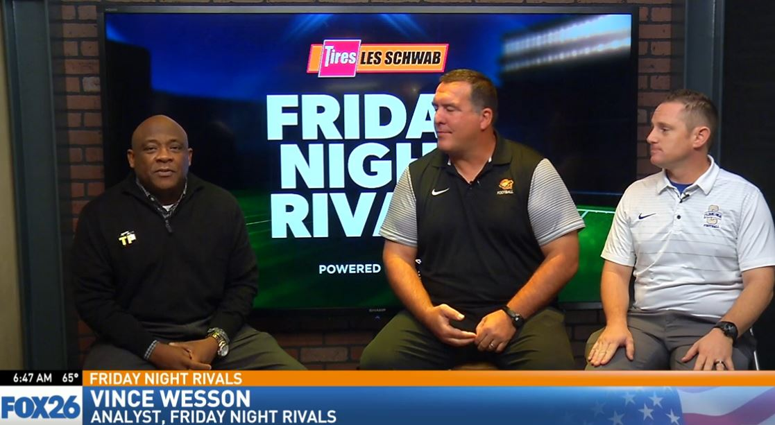 Friday Night Rivals analyst Vince Wesson sat down with Clovis High head football coach Rich Hammond and Clovis West head football coach George Petrissans.