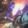 Fiery crash rescue caught on camera in Miami