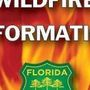 Florida Forest Service firefighters respond to two fires
