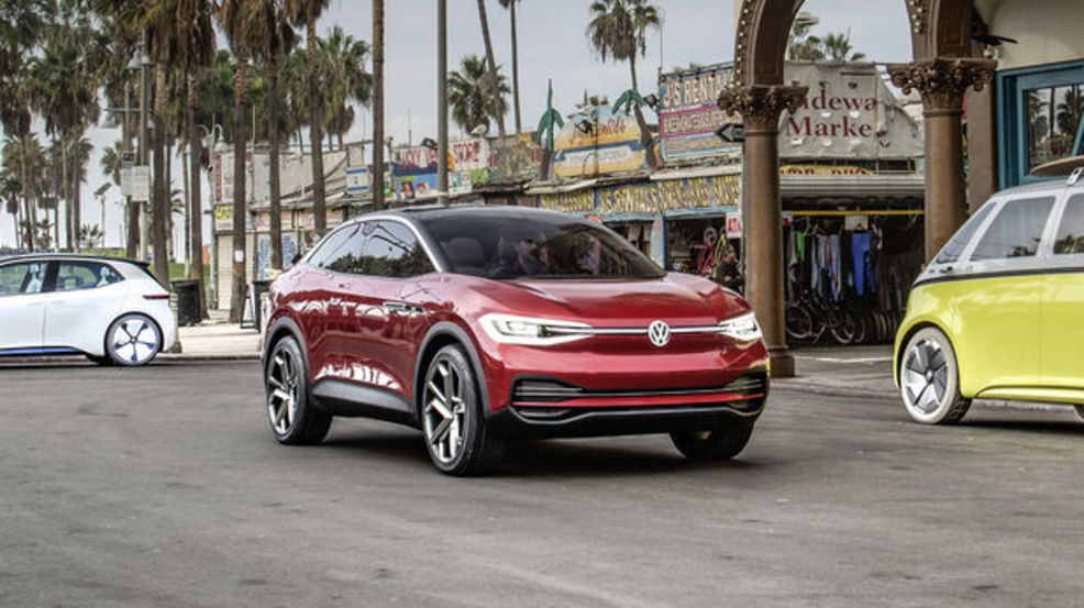 Meet The Id Crozz Volkswagen S New Electric Suv To Be Built In Chattanooga Wtvc