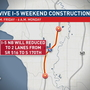 Traffic alert: Work on I-5, S.R. 509 south of Seattle