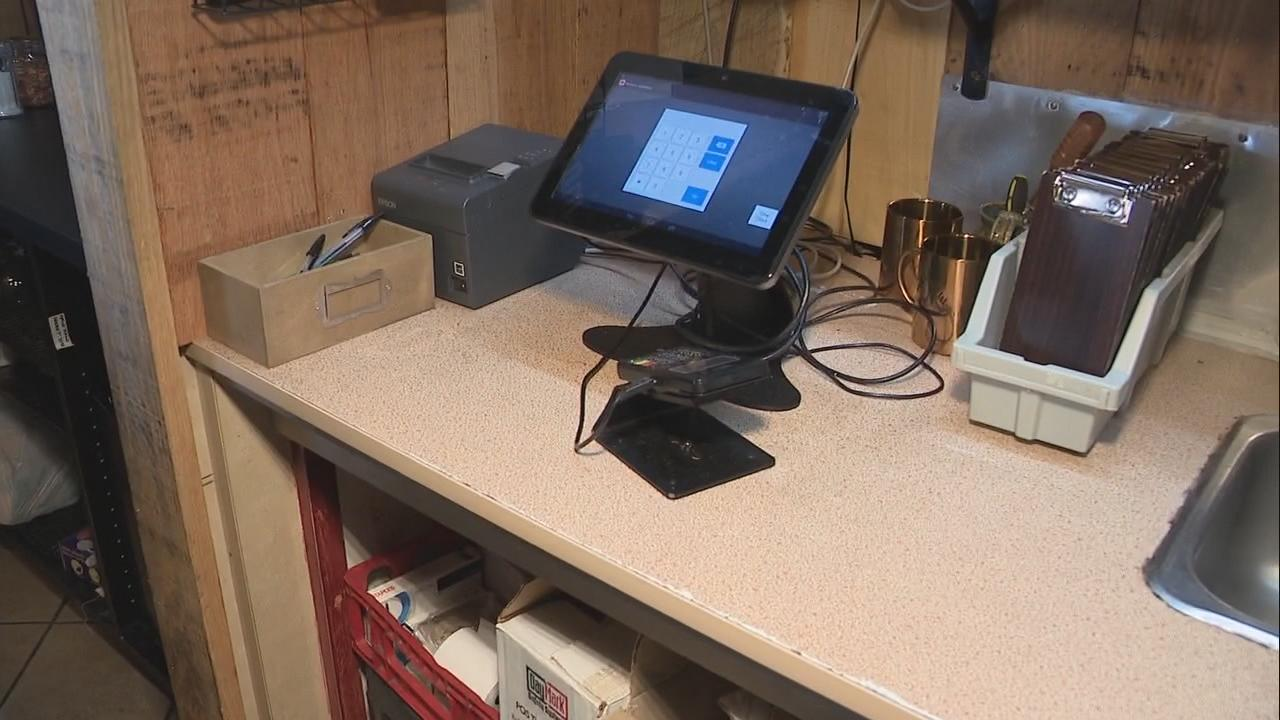 Businesses in Columbus were burglarized over the holiday weekend. Thieves stole cash from registers.(WSYX/WTTE)