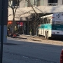 Bus crashes into Arlington building; 3 people taken to hospital
