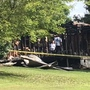 Fire at home of suspects charged in Stroupe case