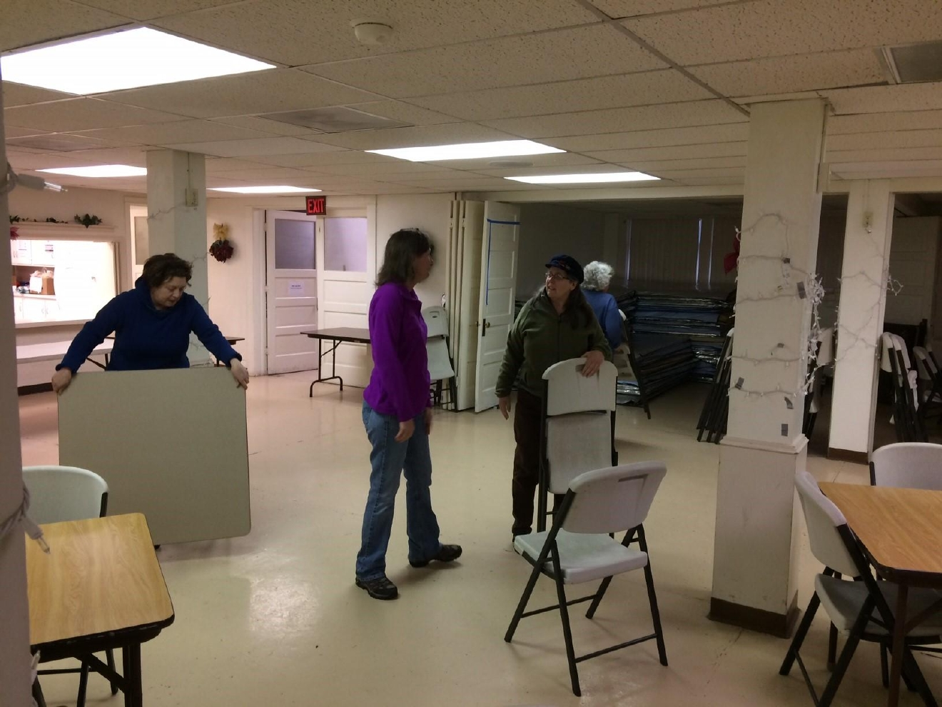 The Egan Warming Centers are preparing for dozens of homeless people to visit their locations this week as the temperatures drop below 30 degress. (SBG photo)