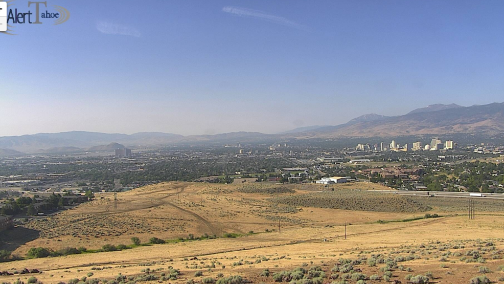 Ferguson Fire continues to impact northern Nevada air quality ...