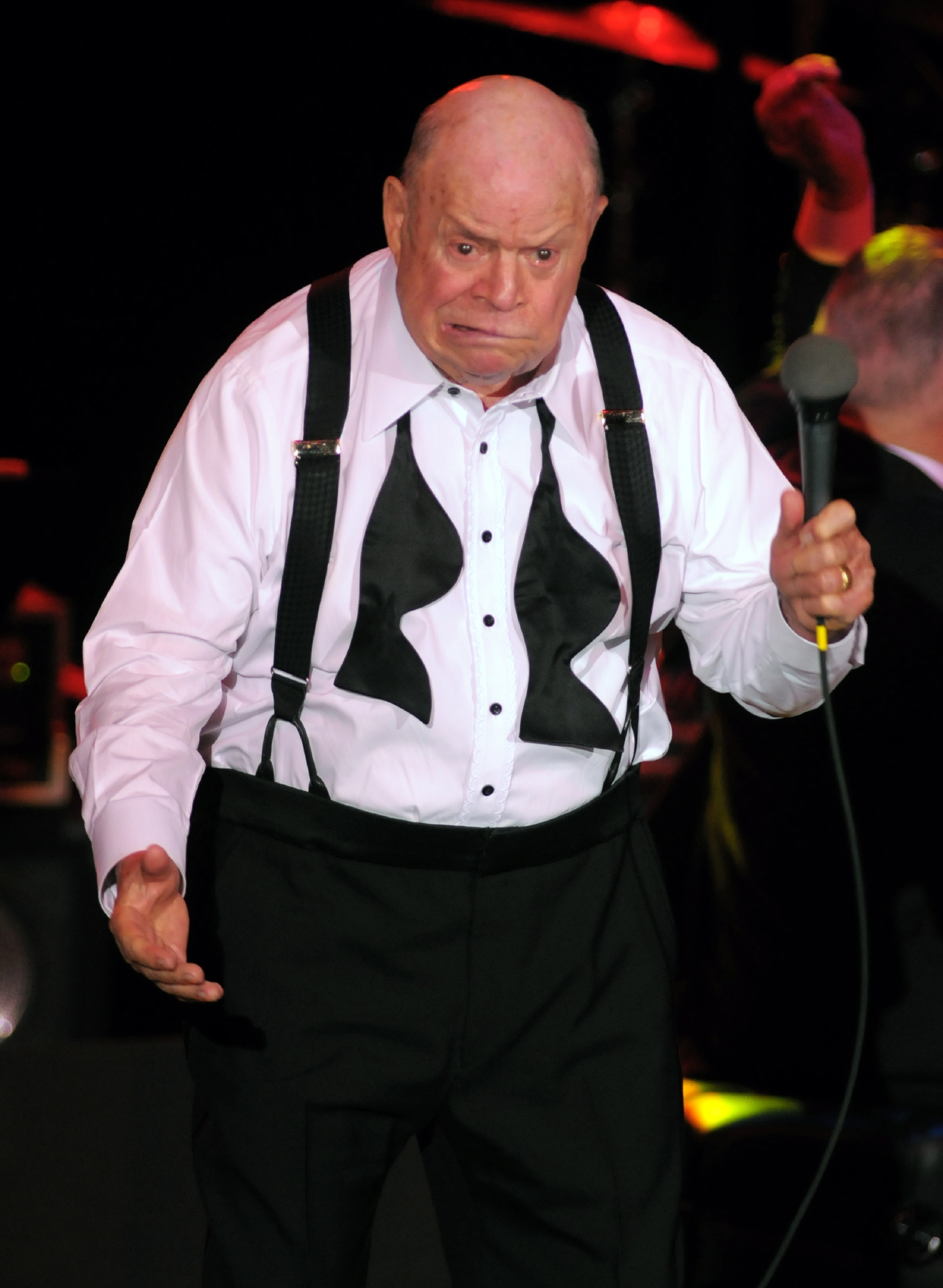 Comedian Don Rickles performs at the Orleans Hotel and Casino in Las Vegas Saturday, February 20, 2010. [Las Vegas News Bureau file | Brian Jones]