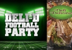 Deli-D Football Party Contest