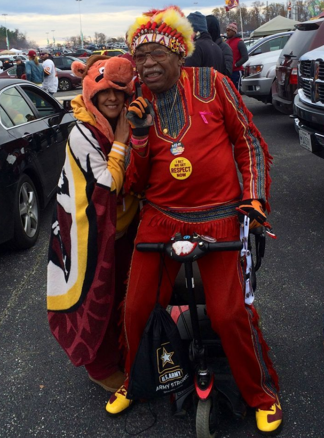 Photo Gallery: Redskin fans prepare for Monday's big game ...