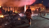 East Bakersfield grocery store erupts in flames, no one injured