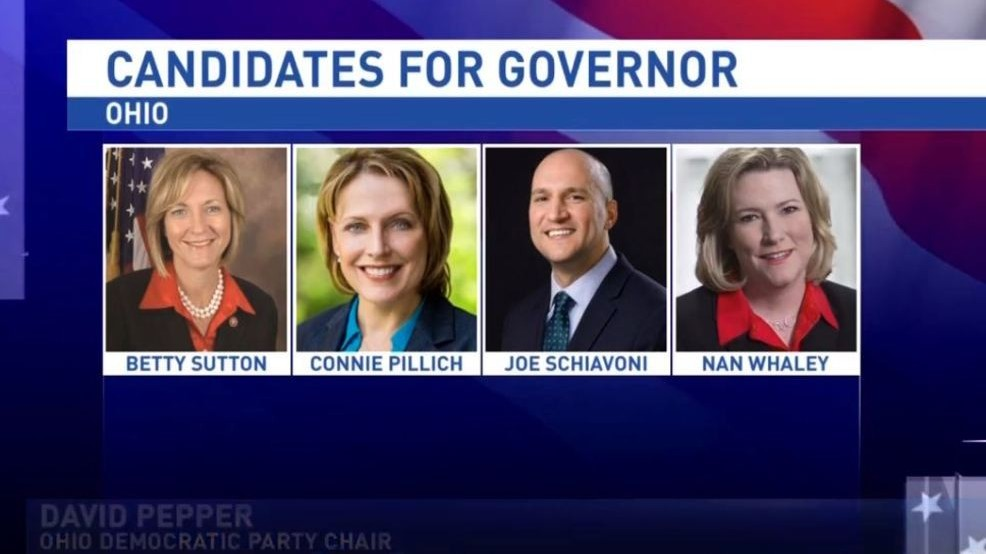 Four candidates take part in first Ohio gubernatorial ...