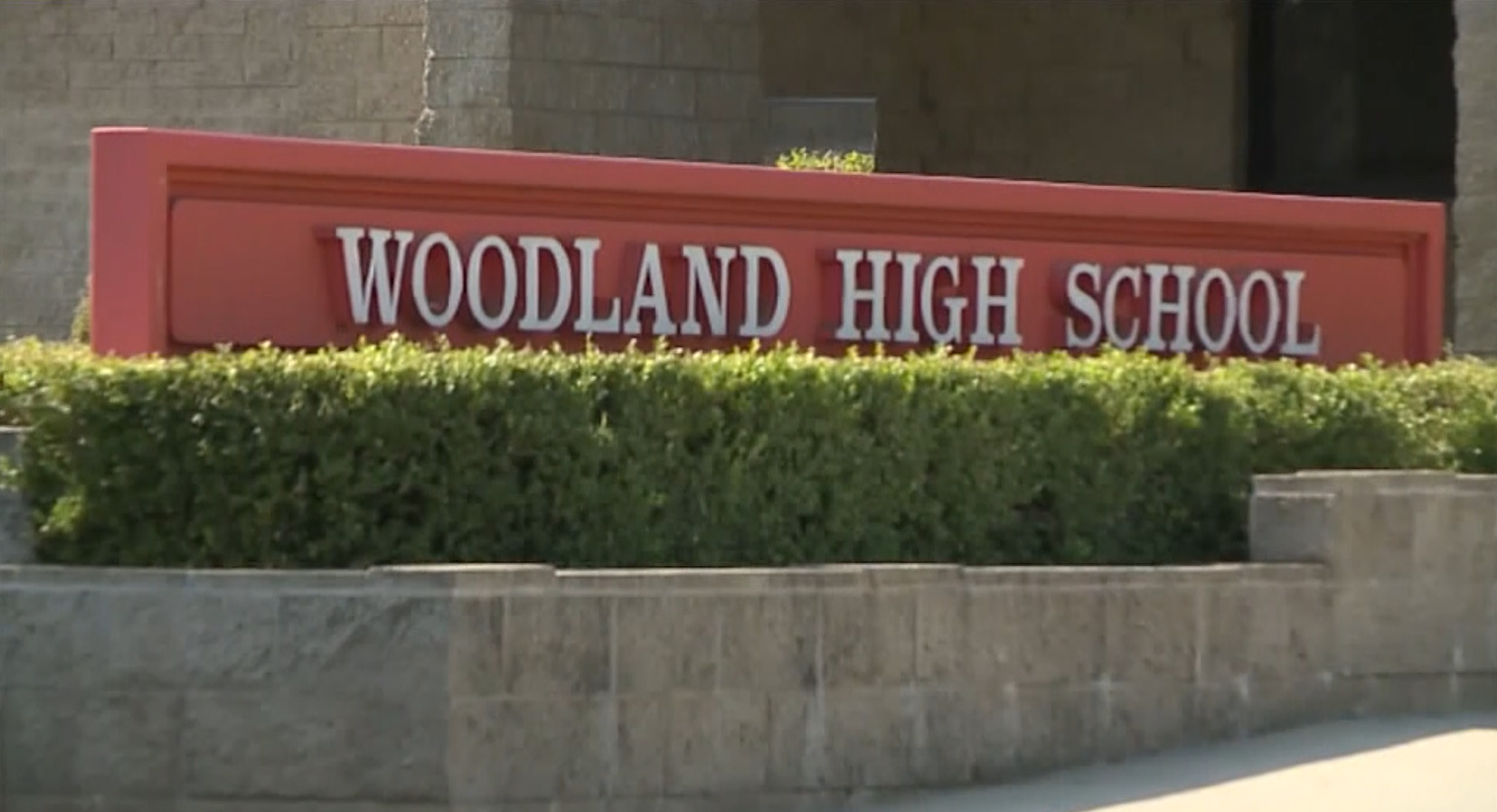 A teacher's political statement during her high school's pep rally caused her to be sent home and temporarily suspended (KTXL/CNN Newsource)
