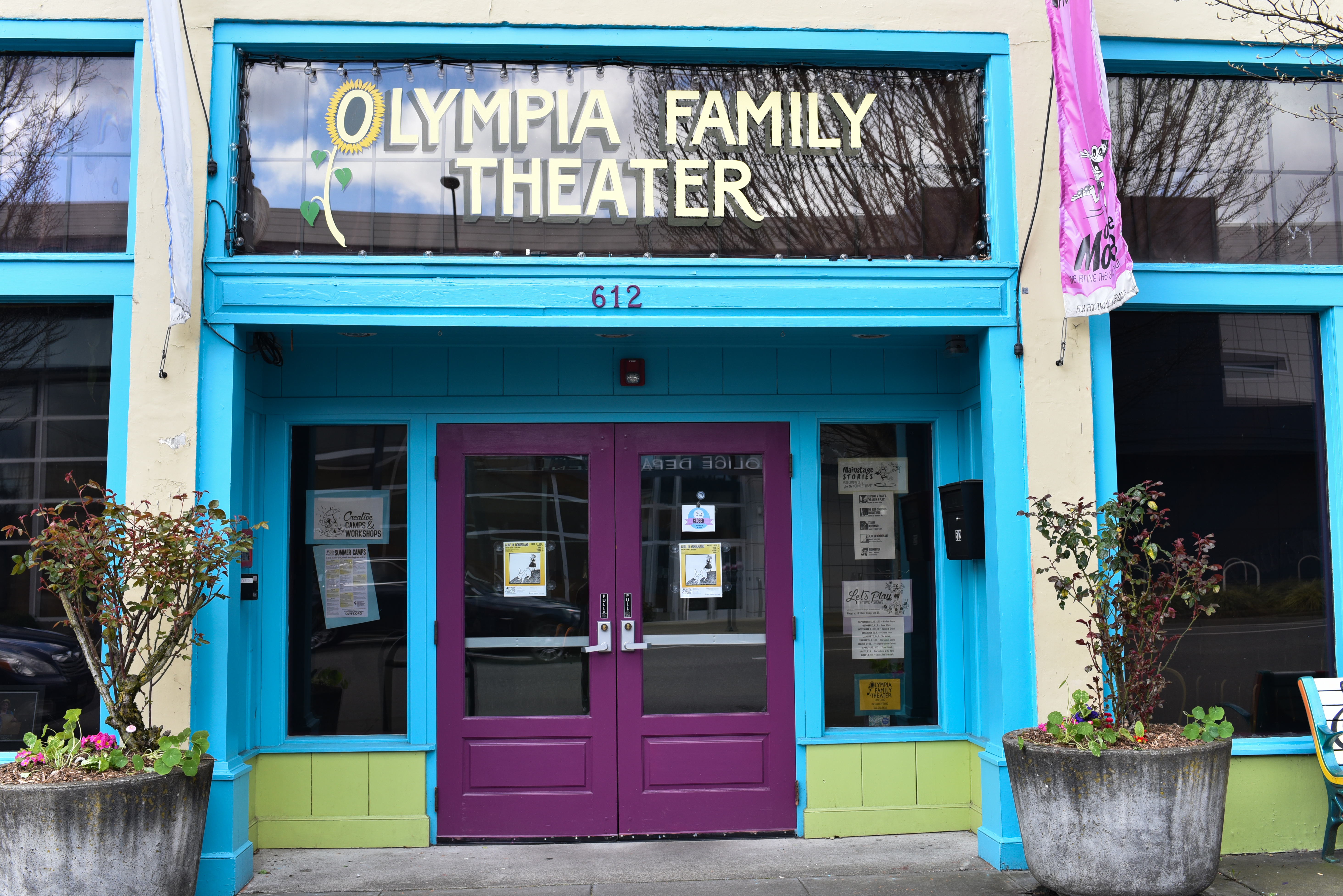 The Olympia Family Theater offers fun performances and programs for all ages. Stop by for a puppet show or workshop. (Image: Rebecca Mongrain/Seattle Refined)