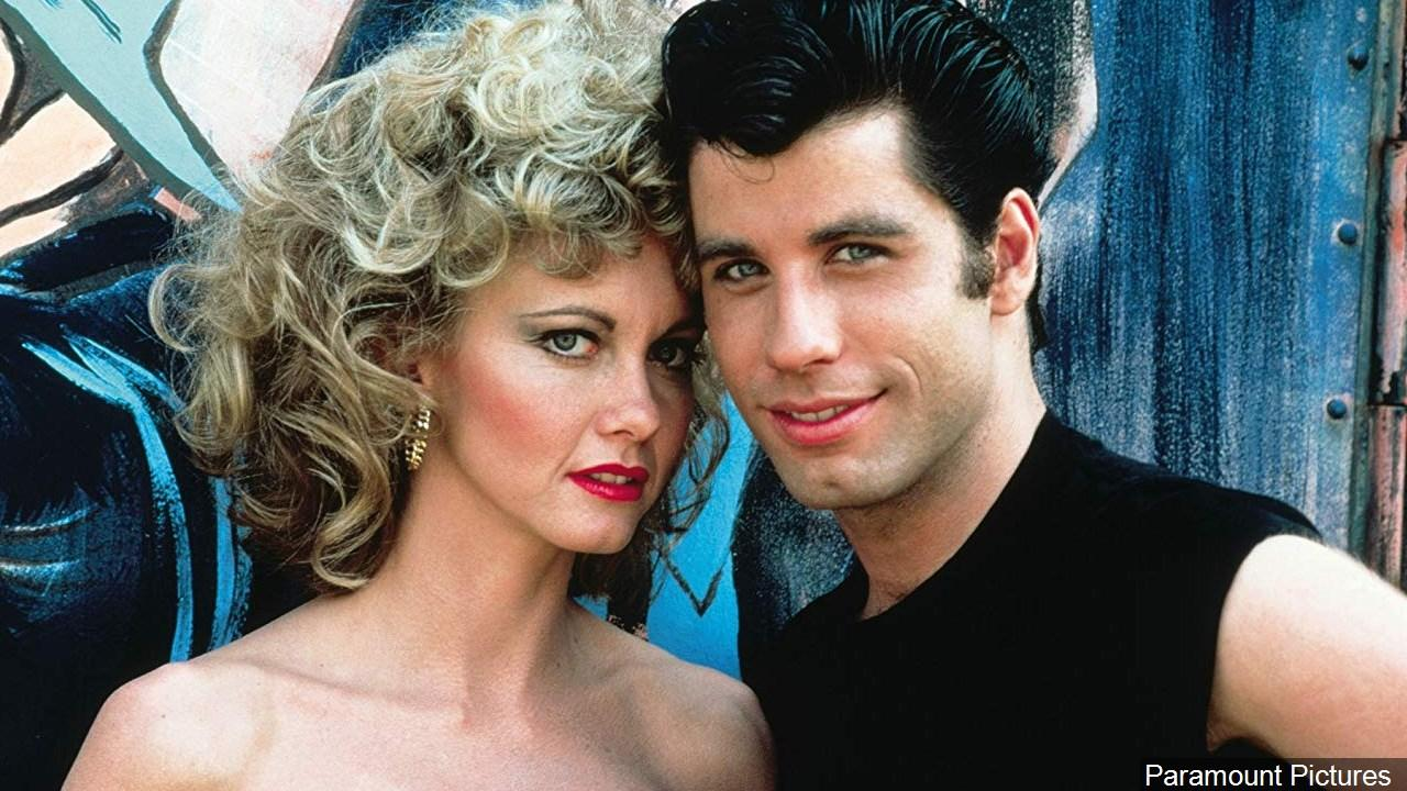 John Travolta (right) and Olivia Newton-John (left) in the original 1978 film 'Grease.' (Photo: Paramount Pictures via MGN Online)