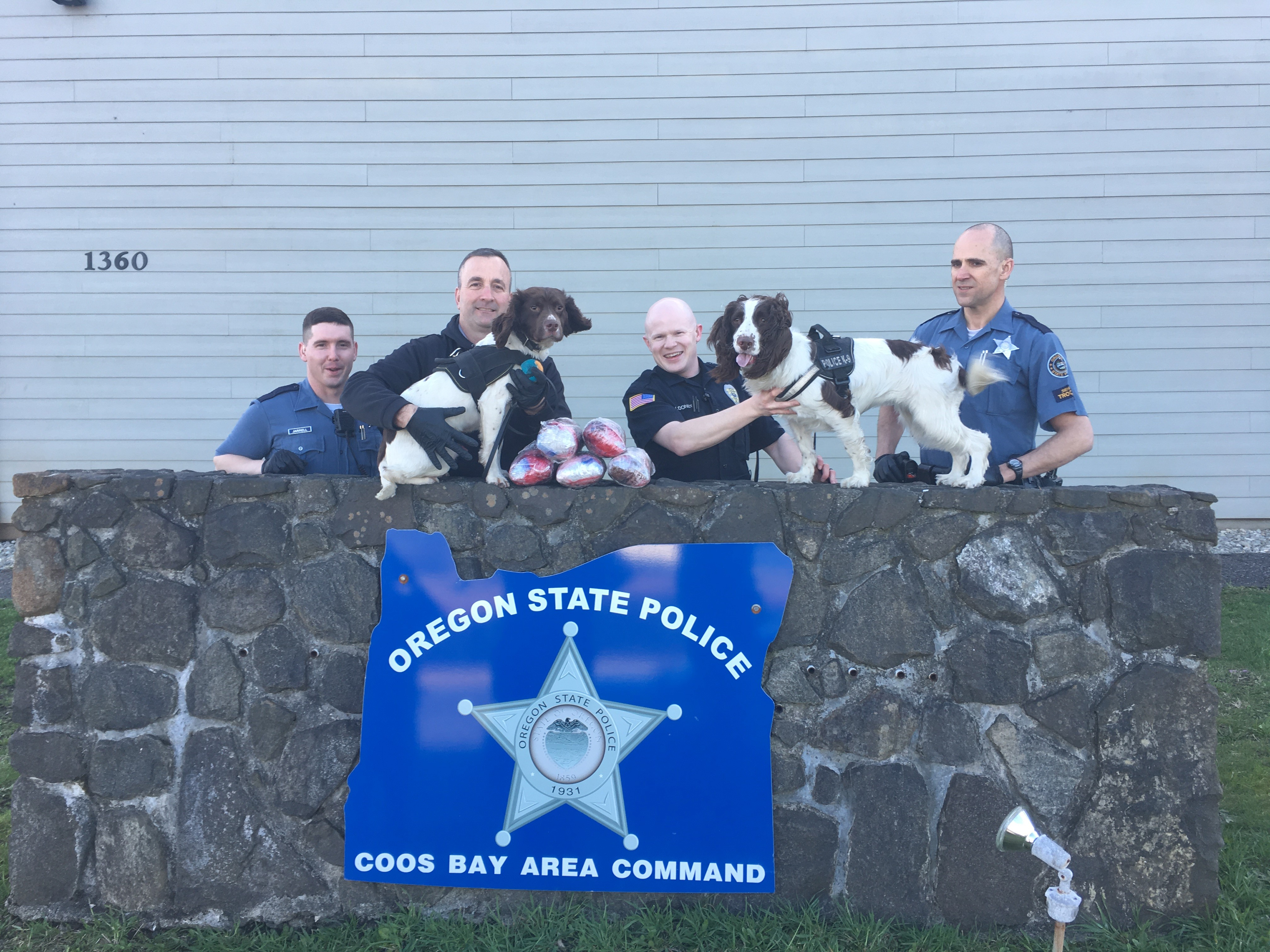 Coos County has a new record for the largest single seizure of methamphetamine, according to the South Coast Interagency Narcotics Team. (Photo courtesy SCINT)
