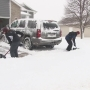 C&C Lawn Care helps with snow clean up
