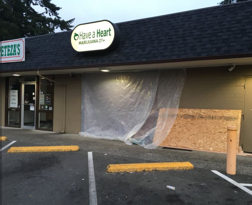 The shop intends to open at 11 a.m. (Photo: KOMO News)<p></p>