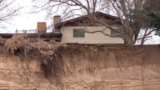 Riverdale landslide threatens another home as more land erodes