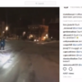 Video of man skiing down the streets of Portsmouth draws police attention
