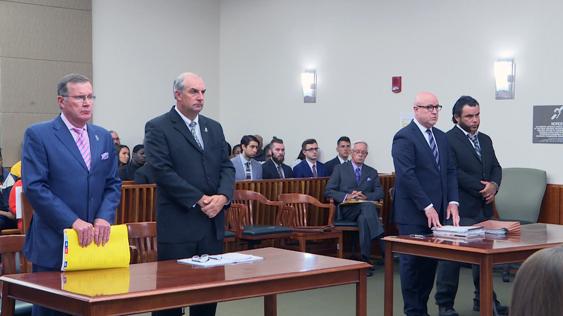 A pretrial hearing for Anthony Sacone is held in Onondaga County Court on July 10, 2018. (Reporter Kelly Curtin)