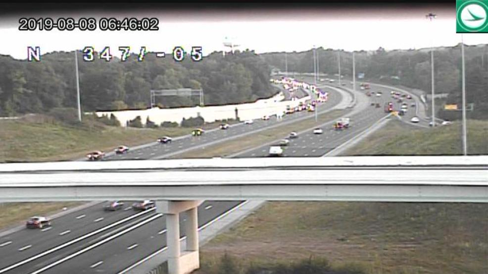 I-270 in northeast Columbus reopens after crash shuts down lanes for