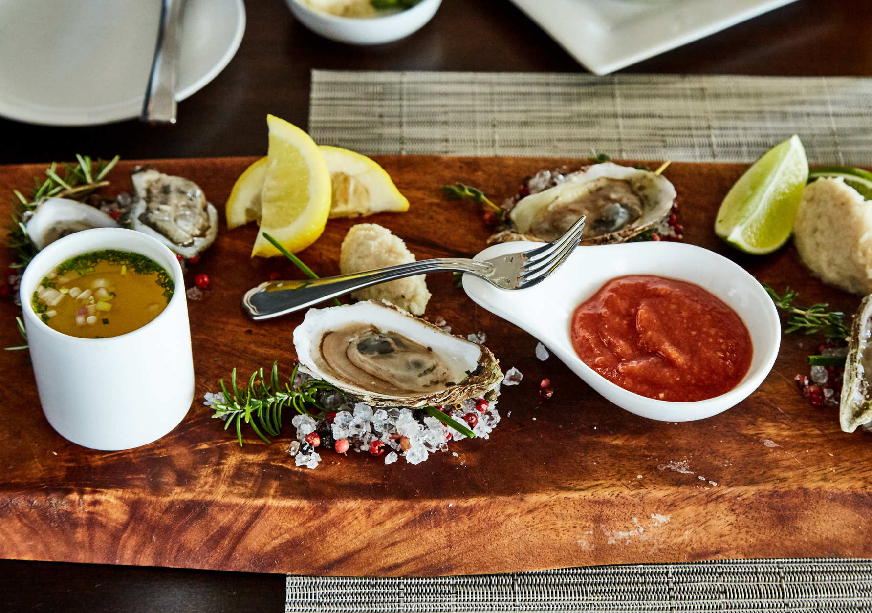 Oysters at Coastal Provisions (Courtesy Wild Dunes Resort)