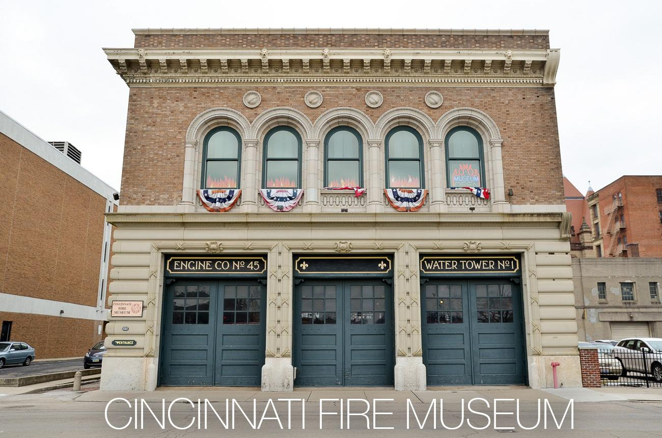 PLACE: Cincinnati Fire Museum / DESCRIPTION: a museum dedicated to the history of fire fighting and the tools and personnel related to it / ADDRESS: 315 W. Court St (45202) / ADMISSION: $8 adults, $7 seniors, $6 children, FREE for children younger than 6 years old / Image: Brevin Couch // Published: 11.29.17