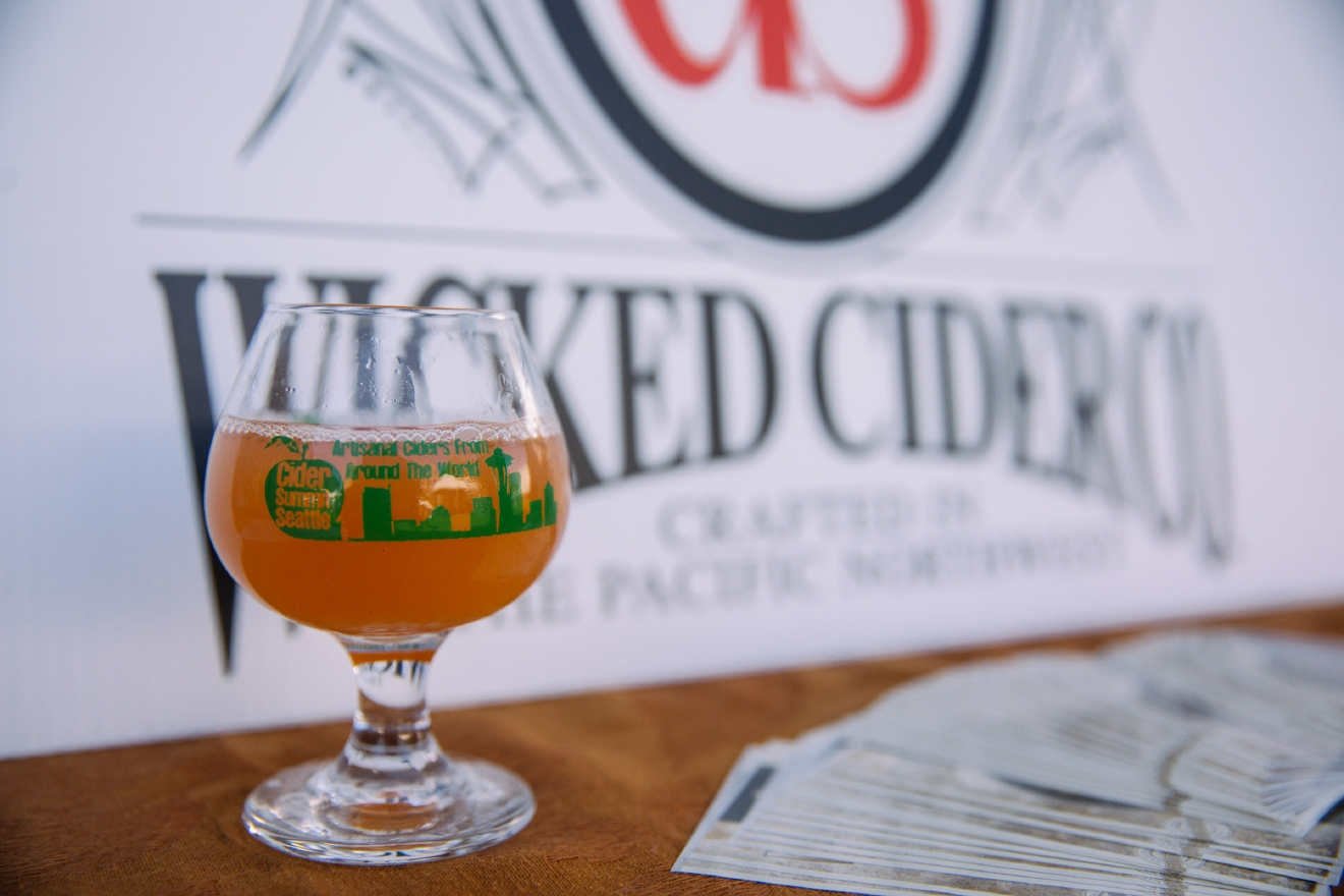 If you love Strawberry Rhubarb pie, you'll love Strawberry Rhubarb cider from Wicked in Kennewick. Just the perfect amount of sweetness will keep that sweet tooth happy without fully feeling like you're sipping straight juice (even though we love juice and would be pleased with that too). (Image: Joshua Lewis / Seattle Refined)