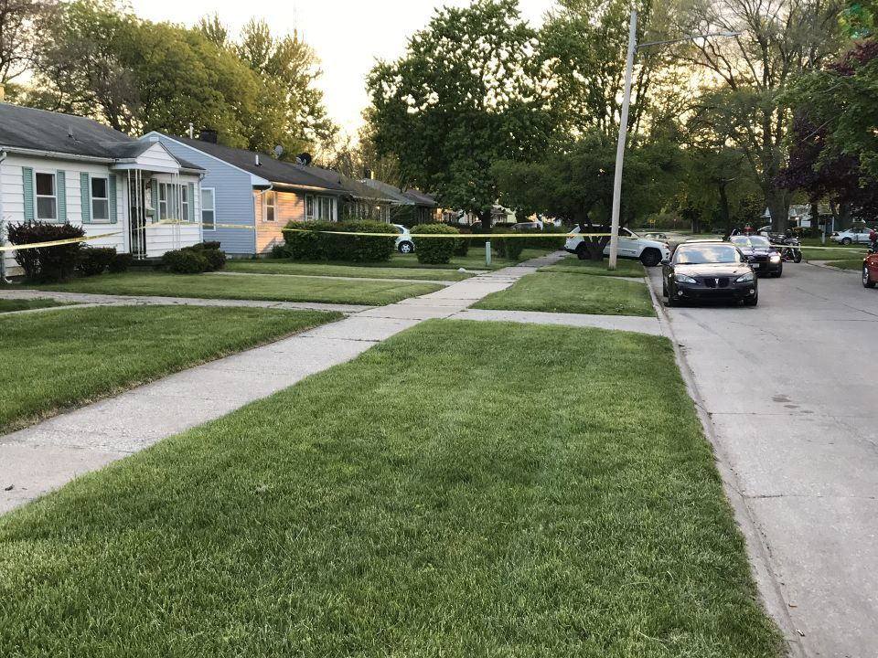 Police are investigating a shooting on Saginaw's east side. (Photo: Miranda Parnell/WEYI/WSMH)