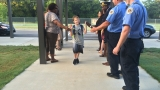 Matt Wilson Elementary started the school year with cheers