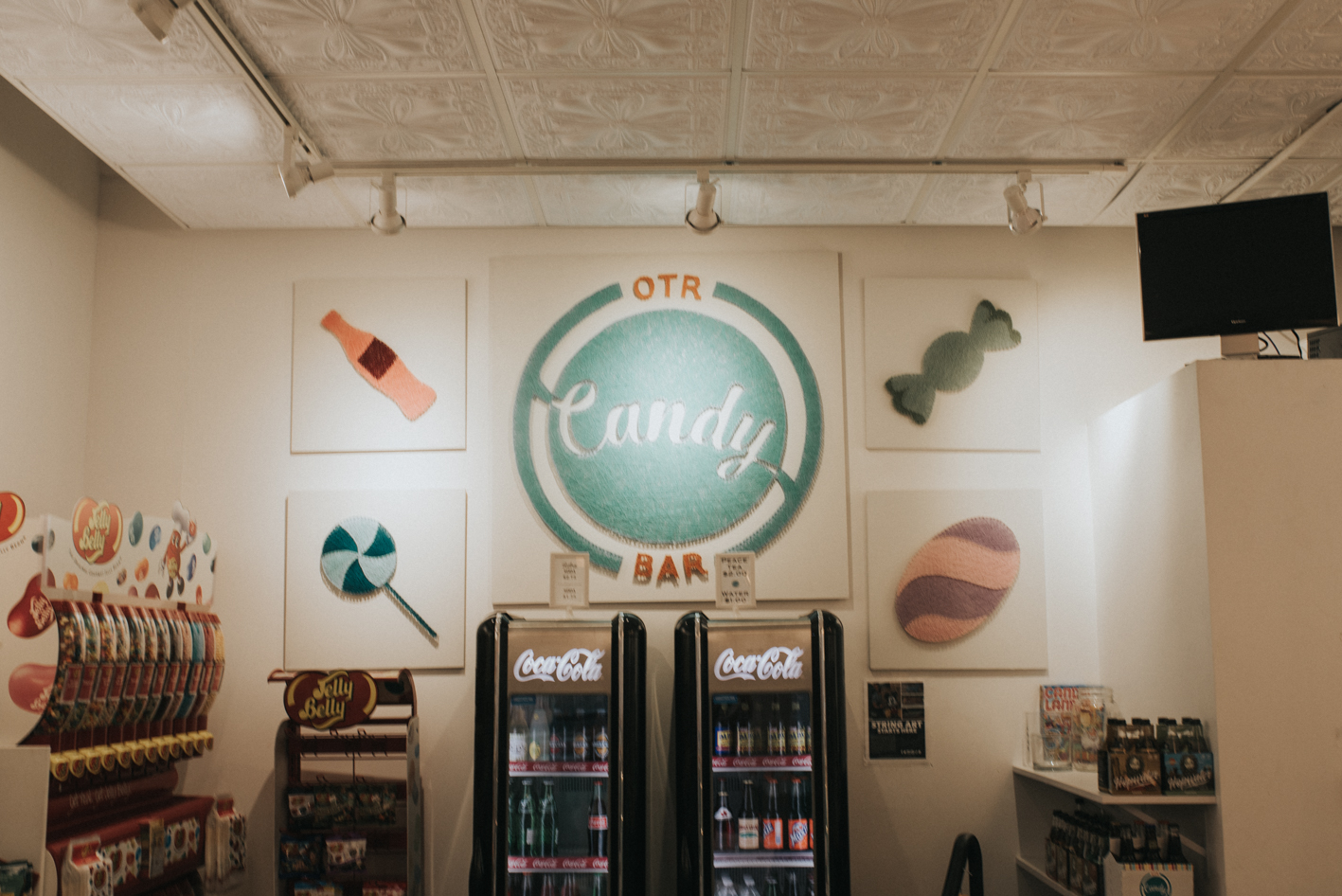OTR Candy Bar offers both traditionally-made and bulk candy options (selected from local sources and vendors from all over the US), as well as a wide range of sodas. It is located just outside of Findlay Market on Elm Street (across from the streetcar platform). ADDRESS: 1735 Elm St. (45202) / Image: Brianna Long / Published: 6.12.17