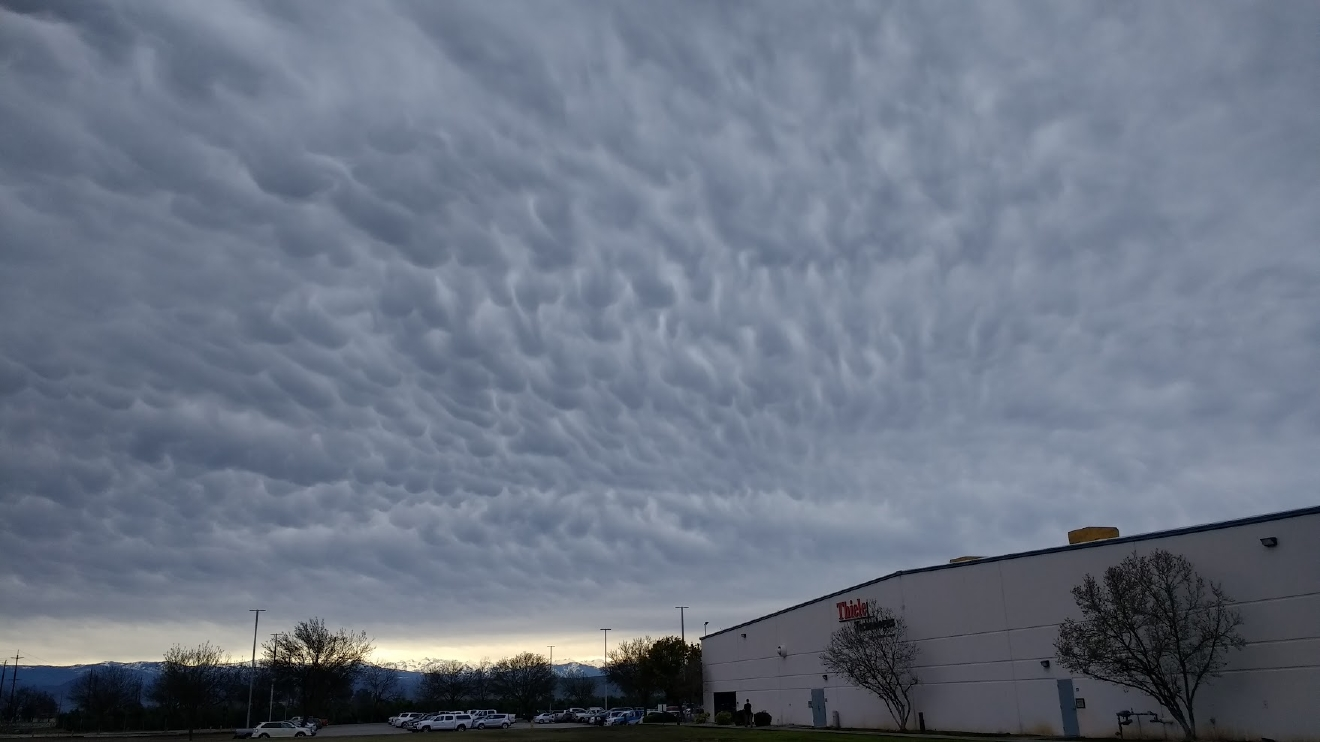 Cool clouds over Reedley by David Turner 2-9-17