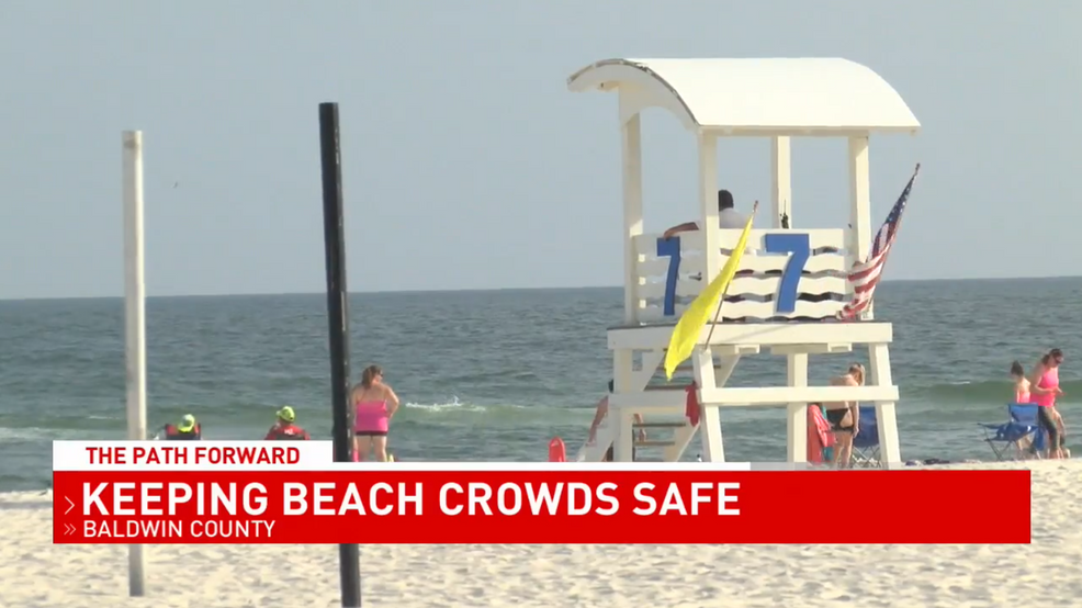 (WPMI) Gulf Shores lifeguards, restaurants prepare for social distancing during busy Memorial Day