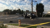 Fatal crash closes southbound lanes on Redwood Rd.
