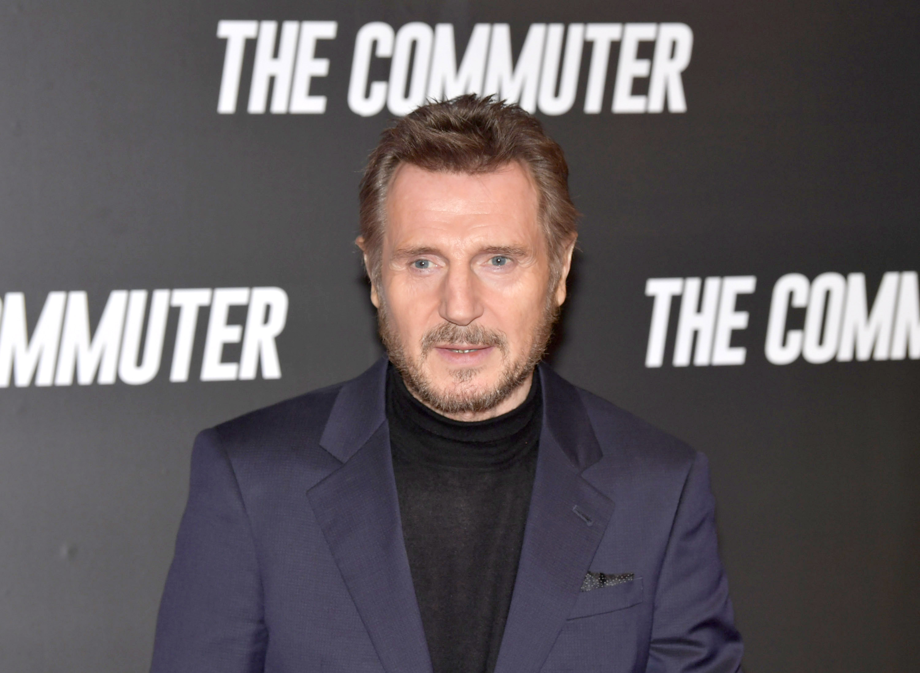 Gala screening of 'The Commuter' at the Cineworld Dublin in Dublin, Ireland.  Featuring: Liam Neeson Where: Dublin, Leinster, Ireland When: 12 Jan 2018 Credit: Brightspark Photos/WENN.com