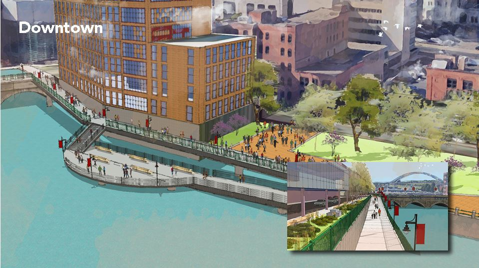 "The Roc the Riverway program is described as ""an ambitious plan to focus development along the Genesee River."" (Photo: City of Rochester)"