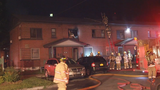 Crews battle flames in apartment unit in Syracuse